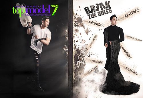 lo dien giam khao thu tu cua vietnam's next top model 2016 - 5