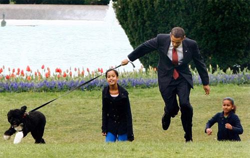 Những hình ảnh để đời của Tổng thống Obama-18