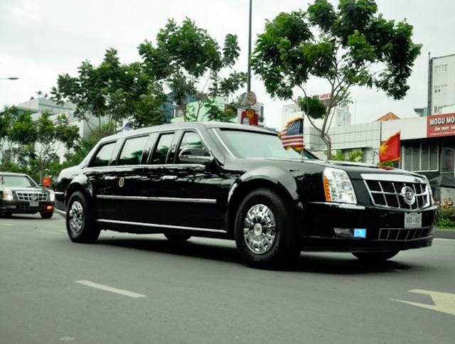 Khám phá dàn siêu xe chở Tổng thống Obama ở Sài Gòn-1