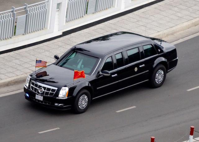 Khám phá dàn siêu xe chở Tổng thống Obama ở Sài Gòn-4