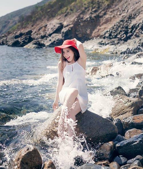 Ngẩn ngơ trước vẻ đẹp trong veo của Á hậu biển Khánh Phương - 6