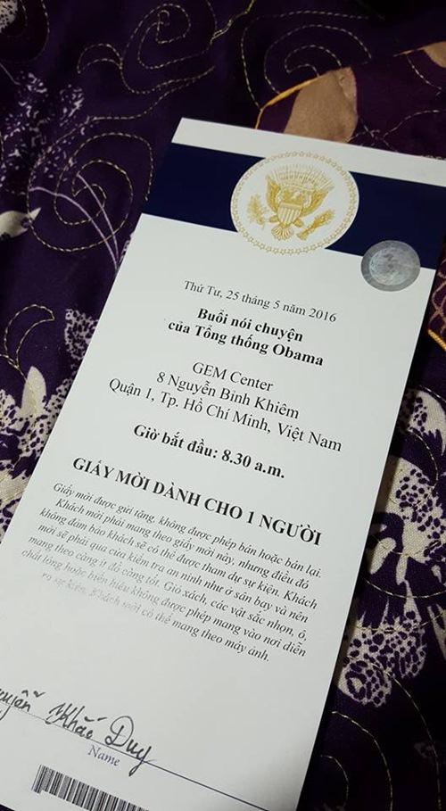 Những sao Việt có cơ hội được gặp Tổng thống Mỹ Obama-13
