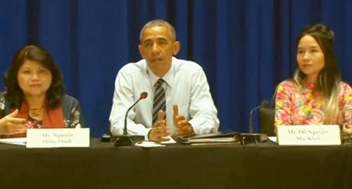 Những sao Việt có cơ hội được gặp Tổng thống Mỹ Obama-7