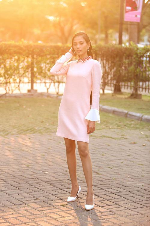 Trương Thị  May đẹp dịu dàng xuống phố ngày nắng - 3