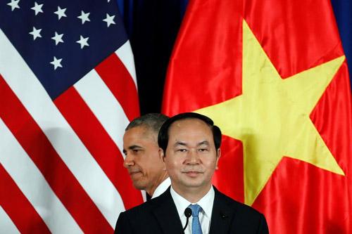 Hình ảnh Obama đến Việt Nam qua lăng kính quốc tế-8