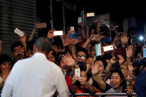 Hình ảnh Obama đến Việt Nam qua lăng kính quốc tế-10