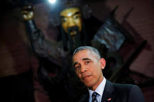 Hình ảnh Obama đến Việt Nam qua lăng kính quốc tế-1