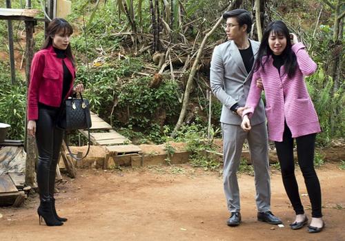 """ban trai ngoc lan """"doi dau"""" nhan phuc vinh trong phim - 9"""