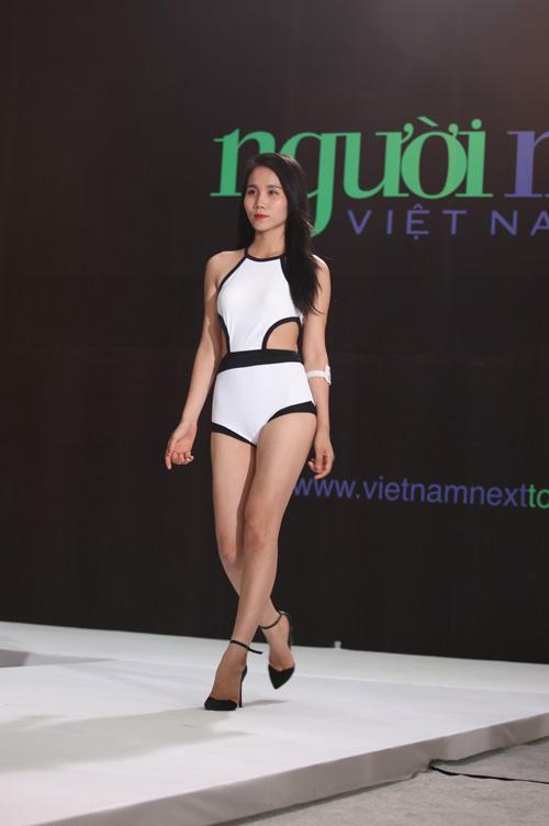 vntm 2016: thi sinh mat xinh, dang chuan do dang voi dan trai 6 mui - 11
