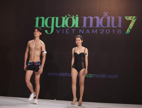 vntm 2016: thi sinh mat xinh, dang chuan do dang voi dan trai 6 mui - 17