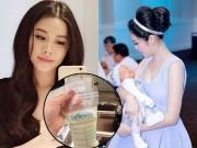 Bà bầu - Cựu hotgirl Hà Nội chia sẻ cách hút và rã đông sữa mẹ