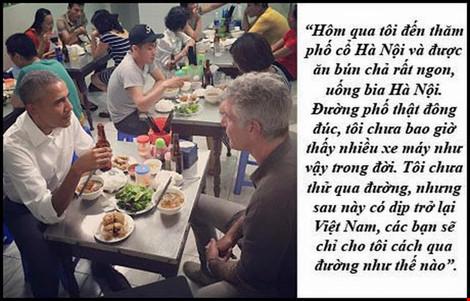 """dau an obama qua nhung cau noi """"de doi"""" tai viet nam - 10"""