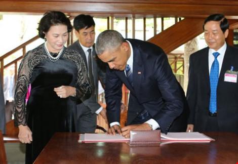 """dau an obama qua nhung cau noi """"de doi"""" tai viet nam - 12"""