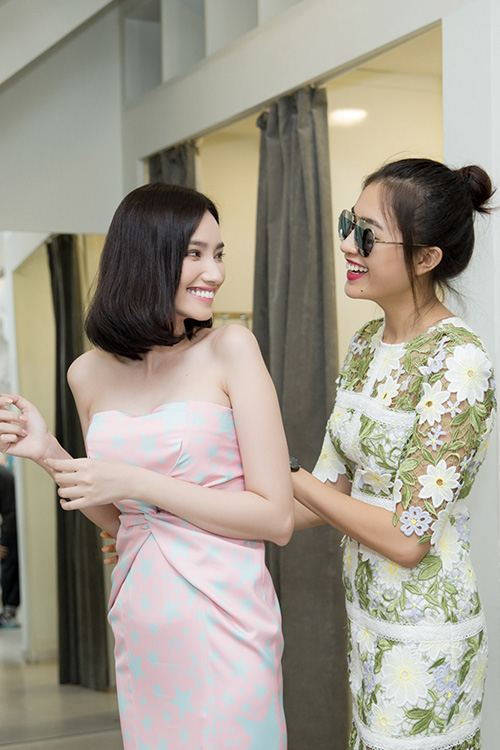 "le hang chinh vay cho truc diem chuan bi show ""the superstar"" - 2"