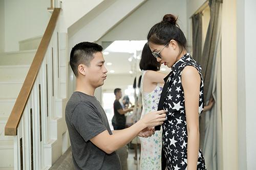"le hang chinh vay cho truc diem chuan bi show ""the superstar"" - 12"