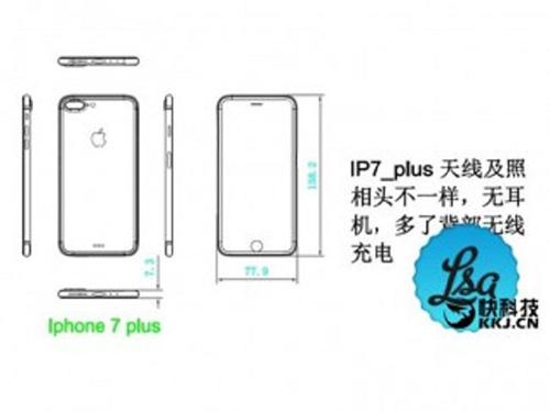lo bản thiét ké kích thuóc iphone 7 và iphone 7 plus - 2