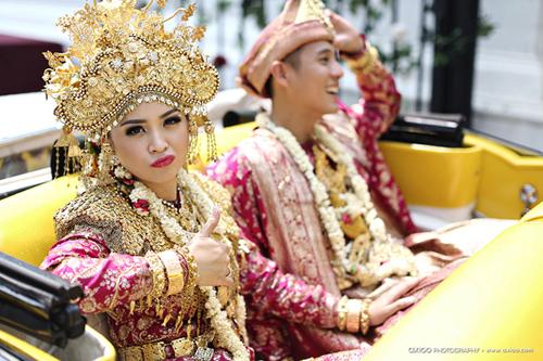 "nguong mo dam cuoi ""dat"" vang cua tai tu indonesia - 6"