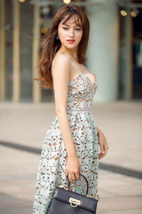 chia tay criss lai, huong giang idol cang xinh dep hon - 4