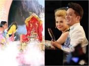 """Làng sao - Cậu bé """"lên đồng"""" trên sân khấu làm Thanh Thảo, Minh Nhí """"nổi da gà"""""""