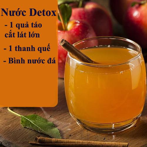 da min dang thon voi 10 loai nuoc detox - 4