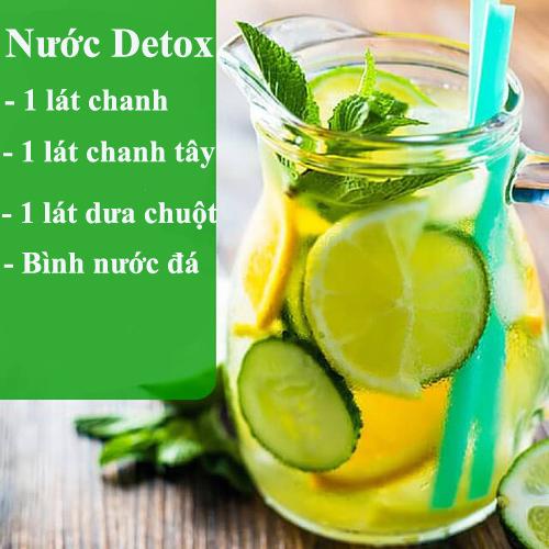 da min dang thon voi 10 loai nuoc detox - 5
