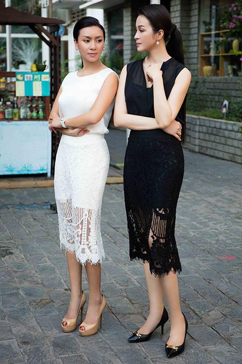 "doi ban than y phung - thanh mai ""do"" ve xinh dep khi hoi ngo - 4"