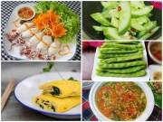 Bếp Eva - Bữa cơm chiều dễ ăn cho ngày nắng