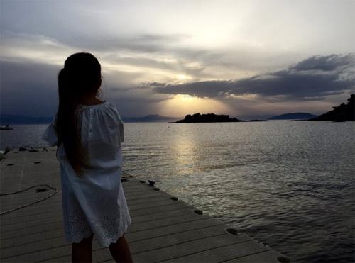 harper lun cun dáng yeu trong kỳ nghỉ cùng gia dình - 7