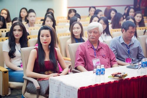 nhan sac tuoi xinh cua dan thi sinh chung khao phia nam hhvn 2016 - 4