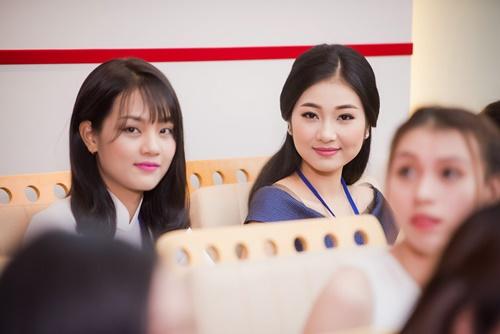 nhan sac tuoi xinh cua dan thi sinh chung khao phia nam hhvn 2016 - 2