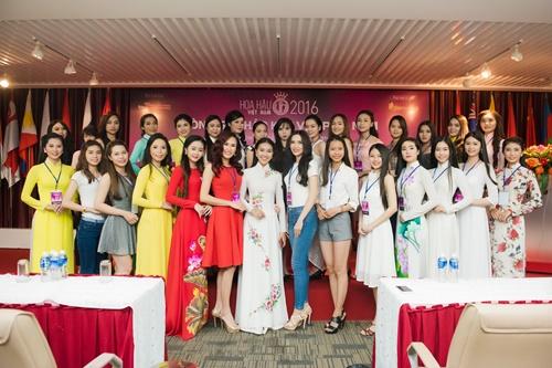nhan sac tuoi xinh cua dan thi sinh chung khao phia nam hhvn 2016 - 5