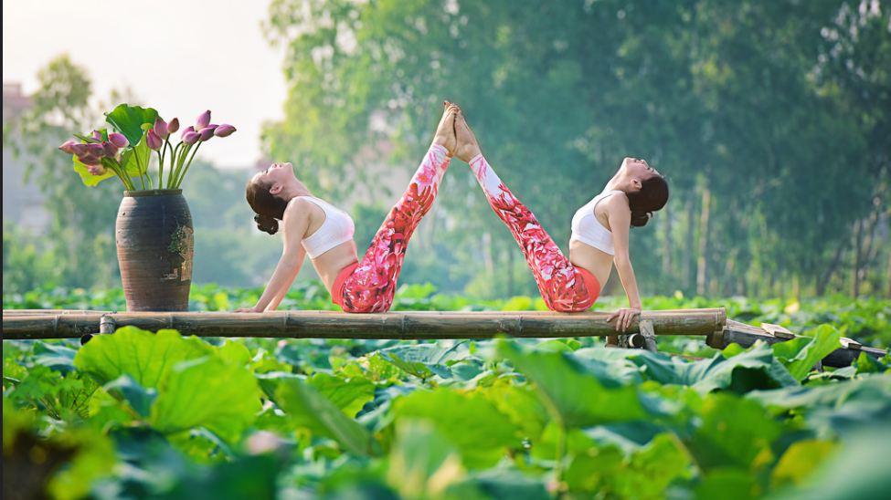 doi ban than 36 tuoi ha noi khoe than hinh tuyet dep nho yoga - 4