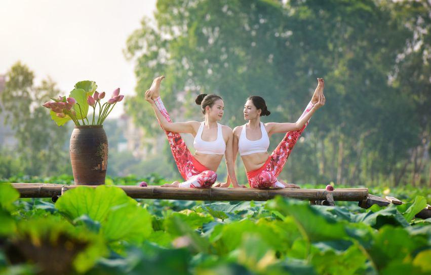doi ban than 36 tuoi ha noi khoe than hinh tuyet dep nho yoga - 8