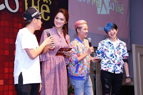 gil le toc xanh noi bat gay chu y ben canh huong giang idol - 15
