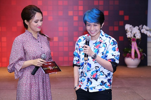 gil le toc xanh noi bat gay chu y ben canh huong giang idol - 5