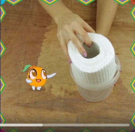 video: khong ton tien, bien giay ve sinh thanh giay uot trong 5 phut - 1