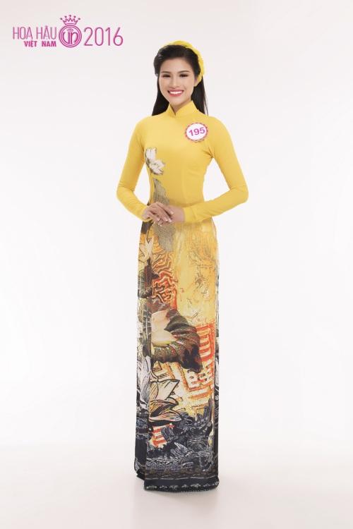 hhvn: top 30 thi sinh phia nam rang ro voi ao dai - 2