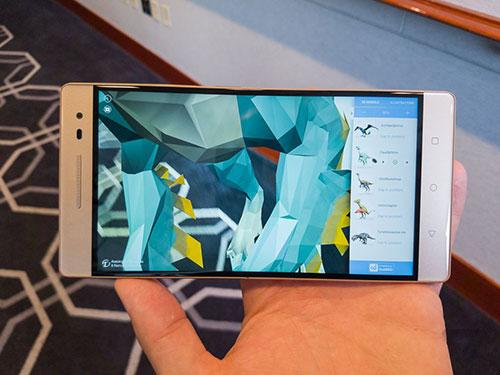 "smartphone google tango dau tien tren the gioi la ""quai vat"" den tu lenovo - 5"
