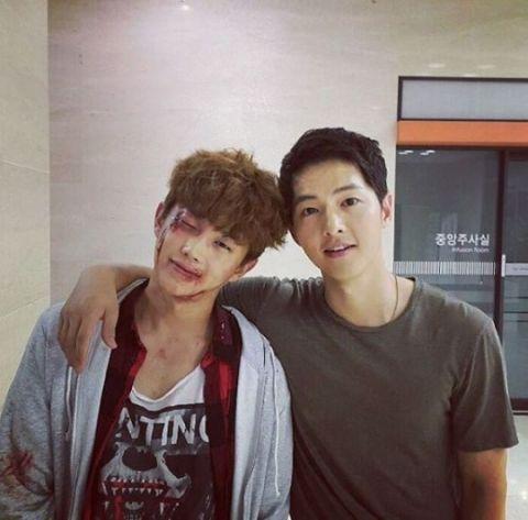 """song joong ki - song hye kyo rat """"duoc long"""" dan em - 1"""