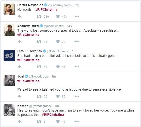 christina grimmie - ngoi sao youtube vua bi ban chet - 3