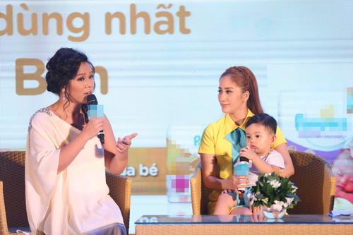 "phuong vy idol tai xuat ""tron tria"" sau 1 thang ruoi sinh con - 6"