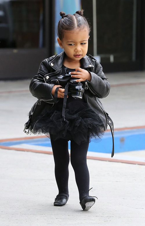 Thời trang sành điệu của con gái Kim Kardashian-8