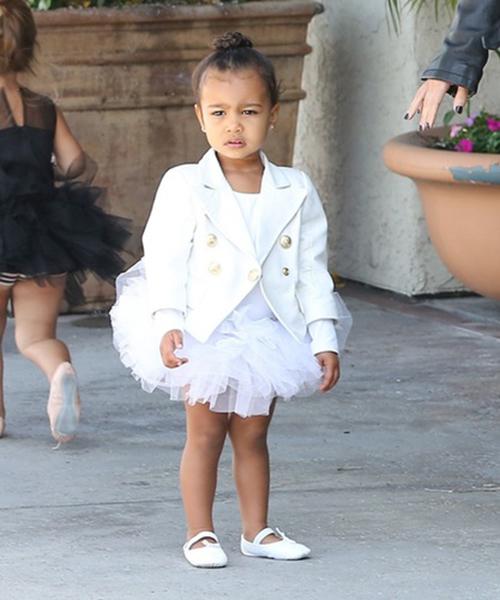 Thời trang sành điệu của con gái Kim Kardashian-7