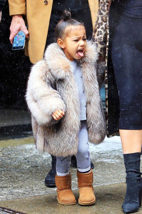 Thời trang sành điệu của con gái Kim Kardashian-6