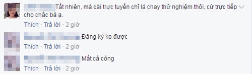 du co tuyen sinh online, phu huynh van den truong nop ho so cho chac an - 2