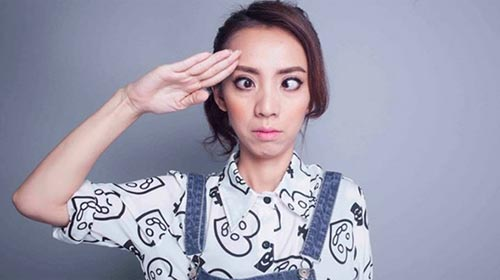 """""""Hoa hậu hài"""" Thu Trang - Sau nụ cười là nước mắt-1"""