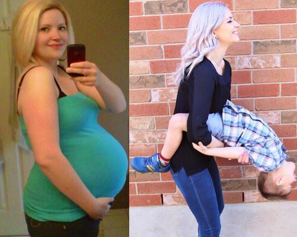 Bà mẹ 3 con xinh như thiếu nữ nhờ giảm 32kg-5