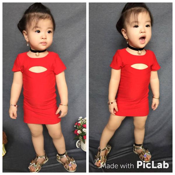 Bé gái Tuyên Quang 16 tháng tuổi cứ ra phố là mọi người trầm trồ-14