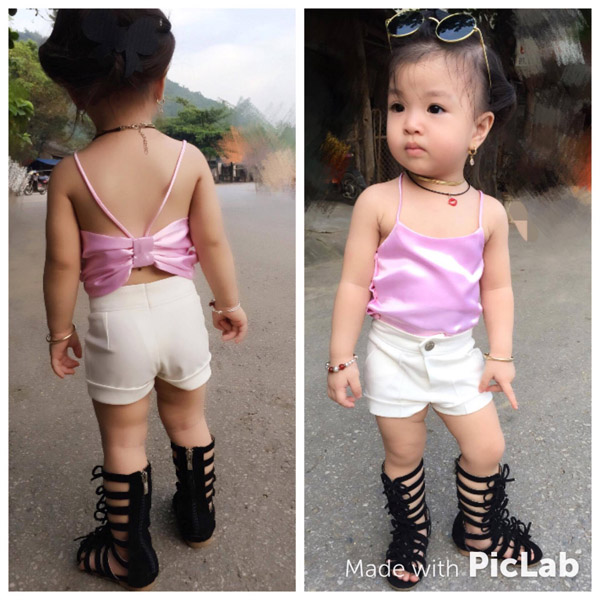 Bé gái Tuyên Quang 16 tháng tuổi cứ ra phố là mọi người trầm trồ-7