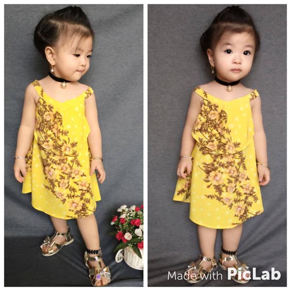 Bé gái Tuyên Quang 16 tháng tuổi cứ ra phố là mọi người trầm trồ-5